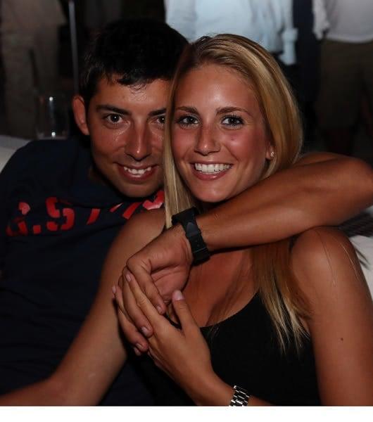 Pablo Larrazabal and Gala Alten