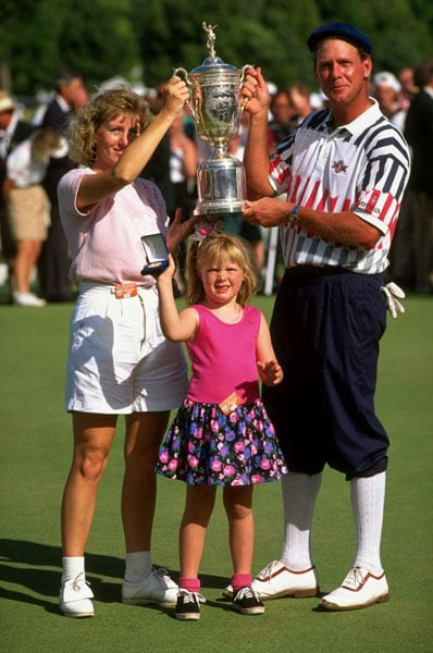 Payne Stewart and family