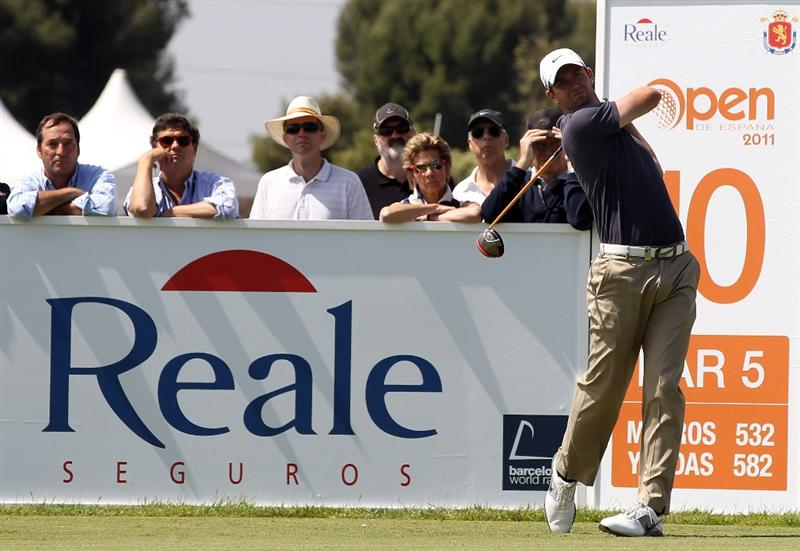 BARCELONA, SPAIN - MAY 06:  Scott Jamieson of Scotland during the second round of the Open de Espana at the the Real Club de Golf El Prat on May 6 , 2011 in Barcelona, Spain.  (Photo by Ross Kinnaird/Getty Images)