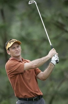 Mark Wilson during the final round of the Funai Classic held on the Magnolia course at Walt Disney World Resort in Lake Buena Vista, Florida  on Sunday, October 23, 2005.Photo by Sam Greenwood/WireImage.com