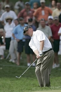 Brett Wetterich during the first round of the 88th PGA Championship at Medinah Country Club in Medinah, Illinois, on August 17, 2006.Photo by Christopher Condon/WireImage.com