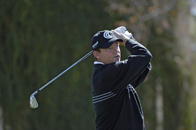 Shaun Micheel in action during the first round of the 2006 Chrysler Classic of Tucson on February 23, 2006 at the Omni Tucson National Golf Resort and Spa in Tucson, ArizonaPhoto by Marc Feldman/WireImage.com
