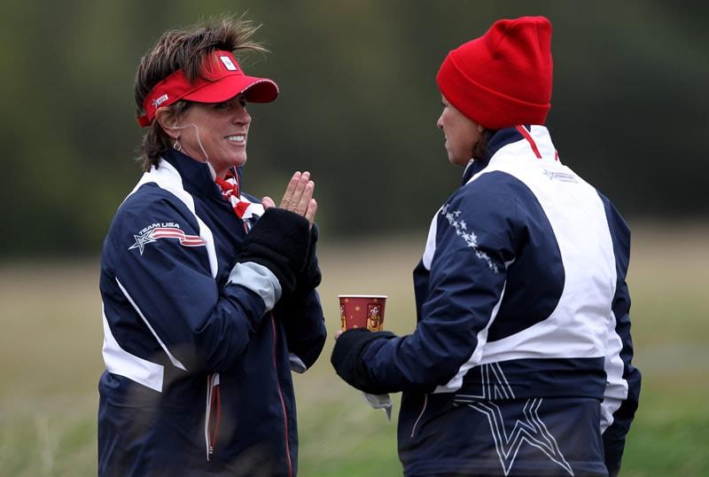Rosie Jones and Sherri Steinhauer