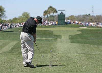 Frank Lickliter II during the third round of the Arnold Palmer Invitational presented by MasterCard held at Bay Hill Golf Club and Lodge in Orlando, Florida, on March 17, 2007. Photo by: Chris Condon/PGA TOURPhoto by: Chris Condon/PGA TOUR