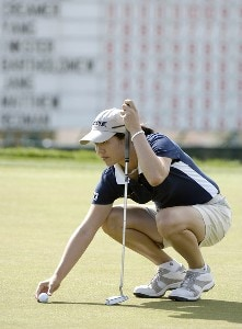 Aree Song putts for birdie on the 9th hole during the third round of the 2006 Safeway International, Saturday,  March 18, 2006 at Superstition Mountain Golf and Country Club in Superstition Mountain, ArizonaPhoto by Marc Feldman/WireImage.com