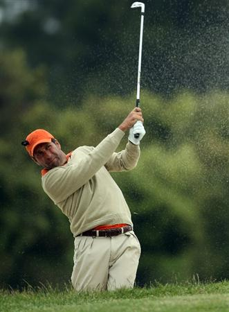 BARCELONA, SPAIN - MAY 07:  Jose Maria Olazabal of Spain during the third round of the Open de Espana at the Real Club de Golf El Prat on May 7 , 2011 in Barcelona, Spain.  (Photo by Ross Kinnaird/Getty Images)