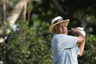 Jim Dent during the first round at the Allianz Championship held at The Old Course at Broken Sound Club in Boca Raton, Florida, on February 9, 2007. Photo by Mary Schilpp/PGA TOUR/WireImage.com