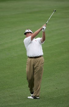 Tim Herron during the third round for THE PLAYERS Championship at the Tournament Players Club at Sawgrass in Ponte Vedra Beach, Florida on March 27 , 2005.