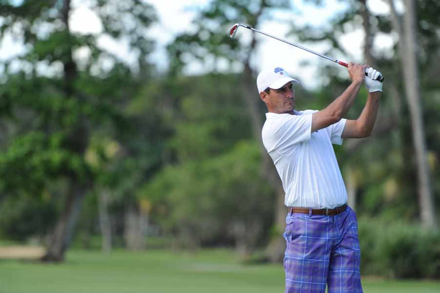 Marc Bulger brings his A game to Big Break NFL Puerto Rico.