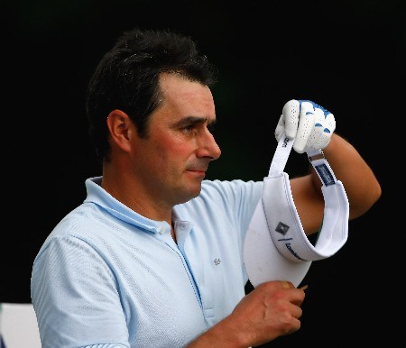 JAKARTA, INDONESIA - FEBRUARY 14:  Jean Van De Velde of France during the first round of the 2008 Enjoy Jakarta Astro Indonesian Open at the Cengkareng Golf Club on February 14, 2008 in Jakarta, Indonesia.  (Photo by Stuart Franklin/Getty Images)