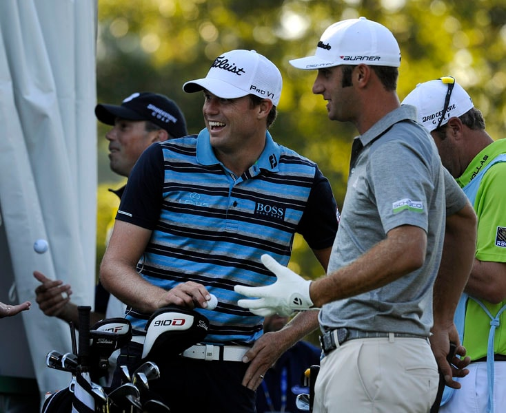 Nick Watney and Dustin Johnson