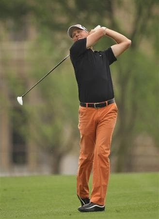 CHENGDU, CHINA - APRIL 22:  Fredrik Andersson Hed of Sweden in action during day two of the Volvo China Open at Luxehills Country Club on April 22, 2011 in Chengdu, China.  (Photo by Ian Walton/Getty Images)