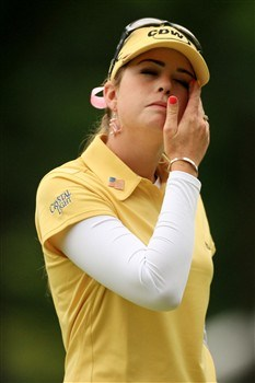 EDINA, MN - JUNE 28:  Paula Creamer stands on the 14th green during the third round of the 2008 U.S. Women's Open at Interlachen Country Club on June 28, 2008 in Edina, Minnesota.  (Photo by Travis Lindquist/Getty Images)