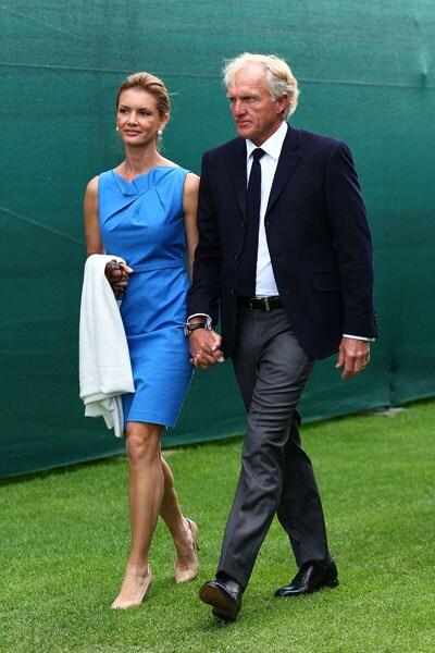 Kirsten and Greg Norman