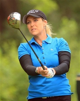 EDINA, MN - JUNE 28:  Cristie Kerr hits her tee shot on the third hole during the third round of the 2008 U.S. Women's Open at Interlachen Country Club on June 28, 2008 in Edina, Minnesota.  (Photo by Scott Halleran/Getty Images)