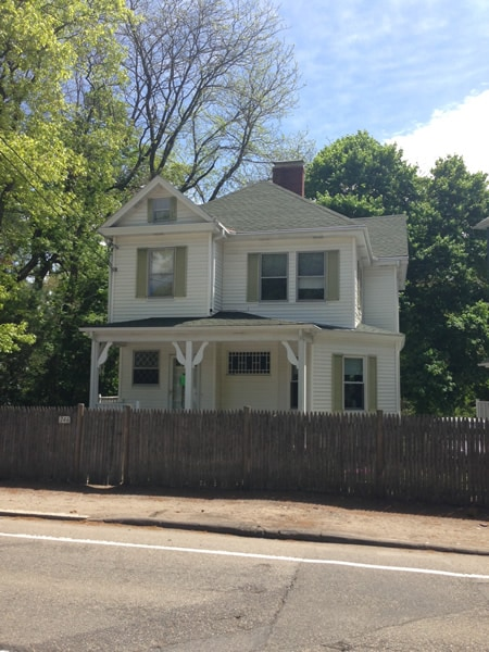 Francis Ouimet's childhood home