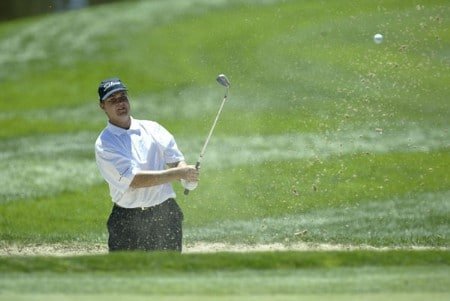 Hunter Haas during the third round of  the 2005 International golf tournament at Castle Pines Country Club in Castle Pines, Colorado.