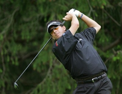 Billy Andrade during the first round of the Barclays Classic held at Westchester Country Club in Rye, New York on June 8, 2006.Photo by Sam Greenwood/WireImage.com