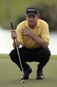 Nick Price during the first round of the 2007 Allianz Championship at the Old Course at Broken Sound Club in Boca Raton, Florida on February 9, 2007. Champions Tour - 2007 Allianz Championship - First RoundPhoto by Pete Fontaine/WireImage.com