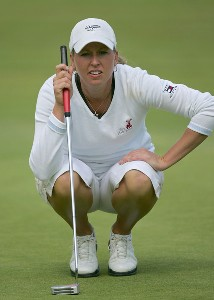 Beth Bauer during the second round of the 2006 Sybase Classic held at Wykagyl Country Club in New Rochelle, New York on Saturday, May 20, 2006.Photo by Sam Greenwood/WireImage.com