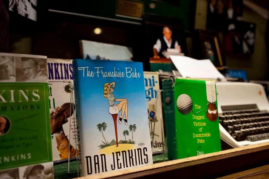 Author Dan Jenkins Book
