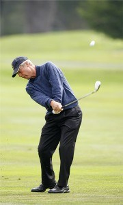 Ben Crenshaw during the first round of the Wal-Mart First Tee Open at Pebble Beach held at Pebble Beach Golf Links in Pebble Beach, California, on September 1, 2006.Photo by: Stan Badz/PGA TOUR