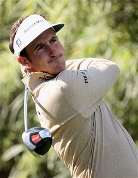 SEVILLE, SPAIN - APRIL 30:  Gonzalo Fernandez Castano of Spain on the par five 9th hole during the Pro-am event prior to the Open de Espana at the Real Club de Golf de Sevilla on April 30, 2008 in Seville, Spain.  (Photo by Ross Kinnaird/Getty Images)