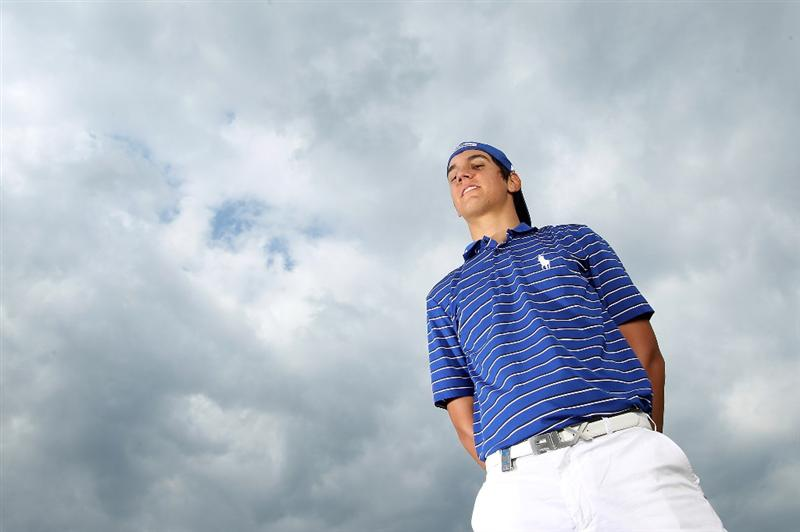 VIRGINIA WATER, ENGLAND - MAY 18:  Matteo Manassero of Italy poses for a portrait prior to the BMW PGA Championship on the West Course at Wentworth on May 18, 2010 in Virginia Water, England.  (Photo by Warren Little/Getty Images)
