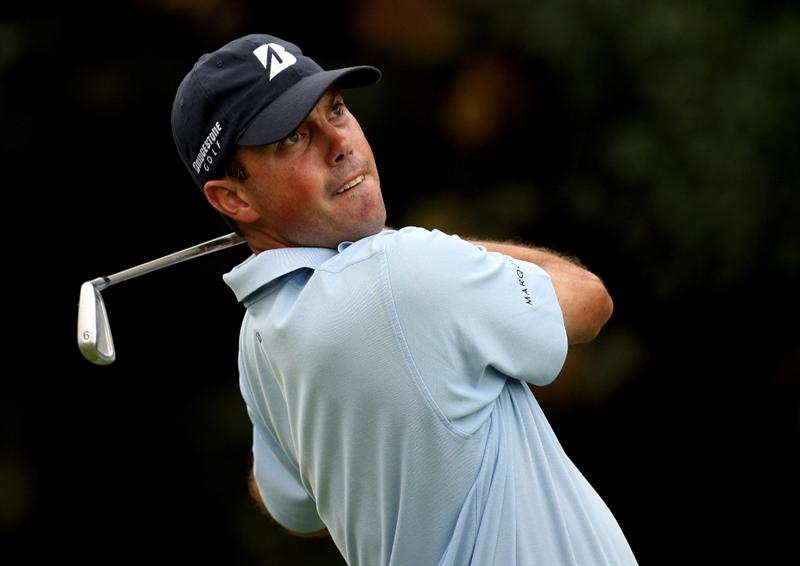 SHANGHAI, CHINA - NOVEMBER 07:  Matt Kuchar of the USA on the 6th tee during the third round of the WGC - HSBC Champions at Sheshan International Golf Club on November 7, 2009 in Shanghai, China.  (Photo by Ross Kinnaird/Getty Images)