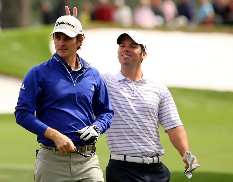 Justin Rose and Paul Casey