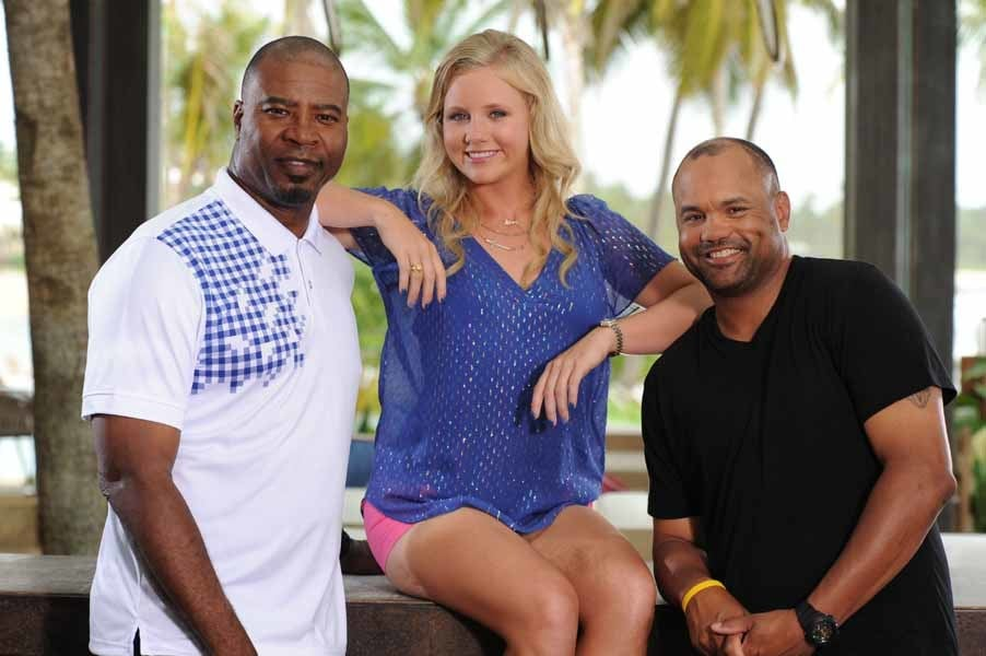 Team Doleman on Big Break NFL Puerto Rico