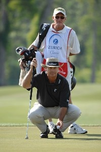 Blaine McCallister during the second round of the Zurich Classic of New Orleans on Friday April 20, 2007 at the TPC Louisiana in Avondale, Louisiana PGA TOUR - 2007 Zurich Classic of New Orleans - Second RoundPhoto by Marc Feldman/WireImage.com