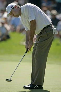 Steve Jones in action during the second round of The International held at Castle Pines Golf Club, August 6,2005, Castle Rock, CO.Photo by Stan Badz/PGA TOUR/WireImage.com