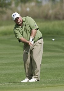 Craig Stadler competes in the first round of the Liberty Mutual Legends of Golf at Westin Savannah Harbor Golf Resort & Spa in Savannah, Georgia, on April 21, 2006.Photo by: Chris Condon/PGA TOUR