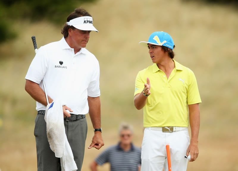 Phil Mickelson, Rickie Fowler