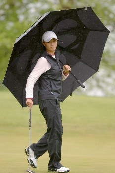 Grace Park during the first round of the 2005 Franklin American Mortgage Championship in Franklin, Tennessee on April 28, 2005.Photo by Al Messerschmidt/WireImage.com
