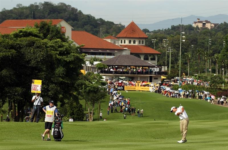 KUALA LUMPUR, MALAYSIA - APRIL 16:  Matteo Manassero of Italy in action during day three of the Maybank Malaysian Open at Kuala Lumpur Golf & Country Club on April 16, 2011 in Kuala Lumpur, Malaysia.  (Photo by Ian Walton/Getty Images)