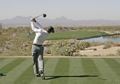 Charles Howell III during the second round matches of the WGC-Accenture Match Play Championship held at The Gallery at Dove Mountain in Tucson, Arizona, on February 22, 2007. Photo by: Chris Condon/PGA TOURPhoto by: Chris Condon/PGA TOUR