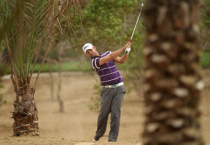 ABU DHABI, UNITED ARAB EMIRATES - JANUARY 21:  Paul Waring of England during the second round of the Abu Dhabi HSBC Golf Championship at the Abu Dhabi Golf Club on January 21, 2011 in Abu Dhabi, United Arab Emirates.  (Photo by Ross Kinnaird/Getty Images)