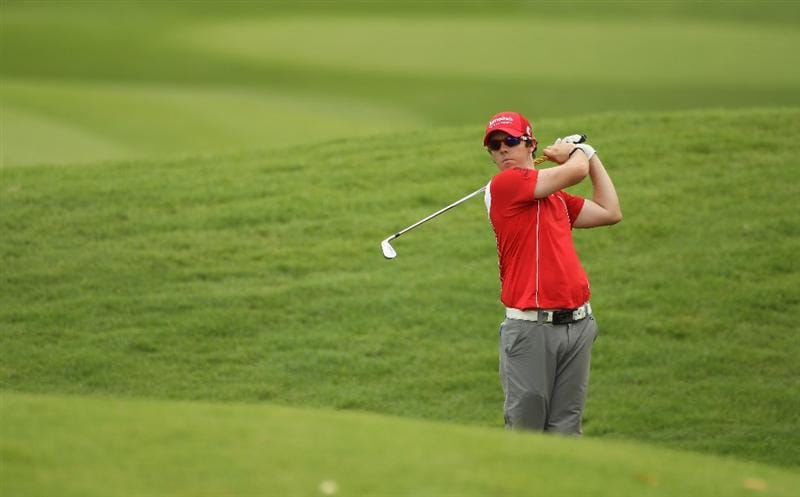 KUALA LUMPUR, MALAYSIA - APRIL 16:  Rory McIlroy of Northern Ireland in action during day three of the Maybank Malaysian Open at Kuala Lumpur Golf & Country Club on April 16, 2011 in Kuala Lumpur, Malaysia.  (Photo by Ian Walton/Getty Images)