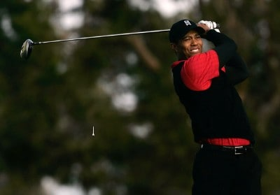 Tiger Woods hits a tee shot on the second hole during the final round of the Buick Invitational at the Torrey Pines Golf Course on January 27, 2008 in La Jolla, California. PGA TOUR - 2008 Buick Invitational - Final RoundPhoto by Jeff Gross/Getty Images