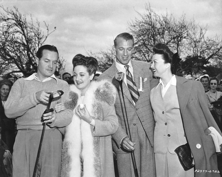 Bob Hope, Dorothy Lamour, Gary Cooper and Ginny Simms