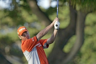 Ted Purdy drives off the 4th tee during the second round of the Sony Open held at the Waialae Country Club in Honolulu, Hawaii on January 12, 2007. PGA TOUR - 2007 Sony Open - Second RoundPhoto by Marco Garcia/WireImage.com