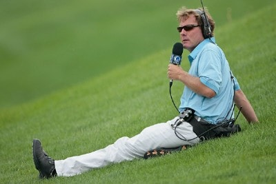 Jerry Foltz of the Golf Channel during the third round of the Cox Classic Presented by Chevrolet held at Champions Run in Omaha, Nebraska, on July 28, 2007. Nationwide Tour - 2007 Cox Classic Presented by Chevrolet - Third RoundPhoto by Chris Condon/PGA TOUR/WireImage.com