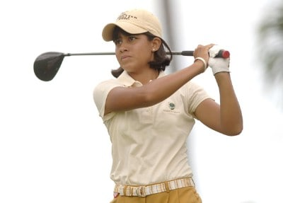 Julieta Granada in action during the final round of the inaugural 2006 Fields Open in Hawaii at Ko Olina Golf Club in Kapolei, Hawaii February 25, 2006.Photo by Steve Grayson/WireImage.com