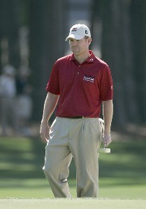 Troy Matteson during the first round of the Verizon Heritage Classic at the Harbour Town Golf Links in Hilton Head, South Carolina on April 12, 2007. Photo by Michael Cohen/WireImage.com