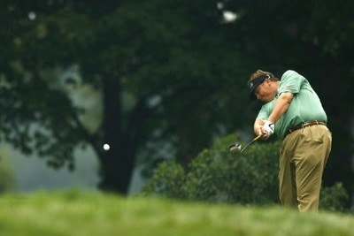 Tim Herron during the second round of the 88th PGA Championship at Medinah Country Club in Medinah, Illinois, on August 18, 2006.Photo by Mike Ehrmann/WireImage.com