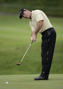 Peter Lonard during the first round of the Barclays Classic held at Westchester Country Club in Rye, New York on June 8, 2006.Photo by Chris Condon/PGA TOUR/WireImage.com