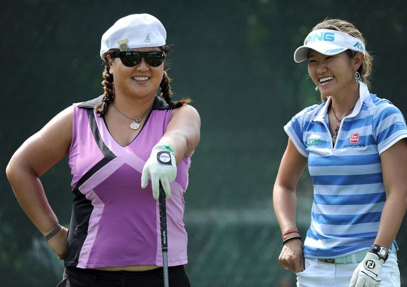 Christina Kim and Jean Chua