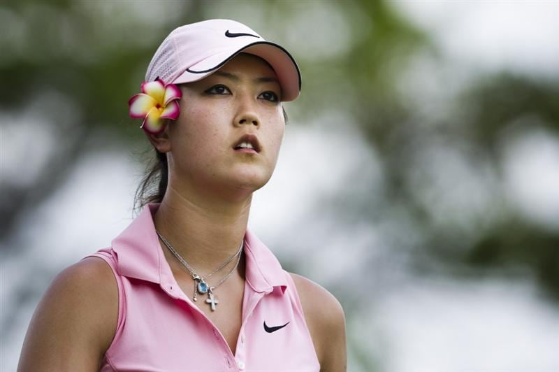 CHON BURI, THAILAND - FEBRUARY 20:  Michelle Wie of USA looks on the 3rd hole during round three of the Honda PTT LPGA Thailand at Siam Country Club on February 20, 2010 in Chon Buri, Thailand.  (Photo by Victor Fraile/Getty Images)